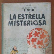Cómics: LAS AVENTURAS DE TINTIN - LA ESTRELLA MISTERIOSA - 1. EDICION DICIEMBRE 1960 LOMO DE TELA. Lote 195074242