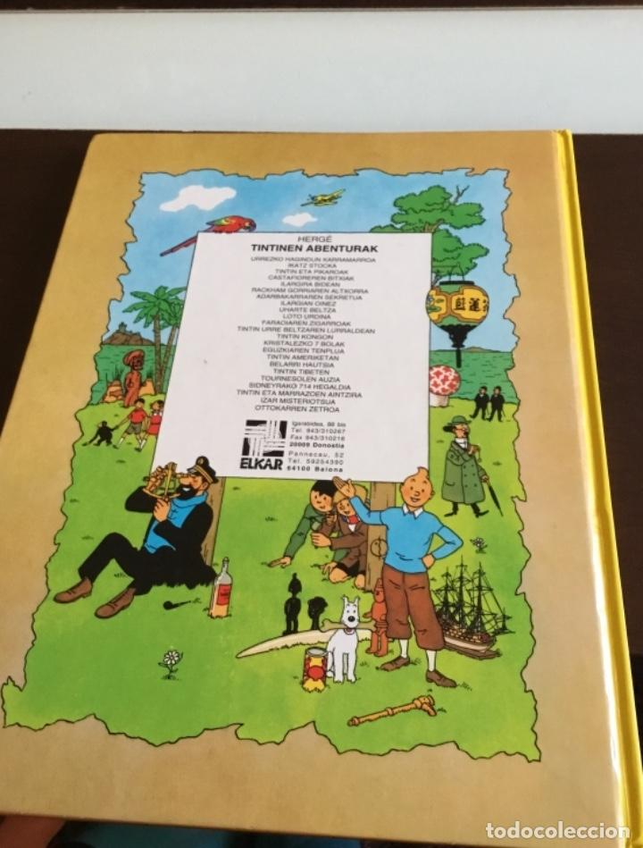 Cómics: Tintin ottokarren zetroa buenisimo estado en euzkera - Foto 7 - 195081940