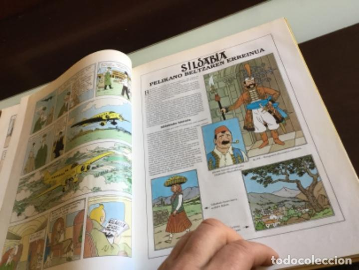 Cómics: Tintin ottokarren zetroa buenisimo estado en euzkera - Foto 14 - 195081940