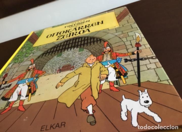 Cómics: Tintin ottokarren zetroa buenisimo estado en euzkera - Foto 18 - 195081940