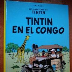 Cómics: LAS AVENTURAS DE TINTIN - TINTIN EN EL CONGO. HERGÉ. EDITORIAL JUVENTUD, 2007. 23ª EDICIÓN.. Lote 195120270