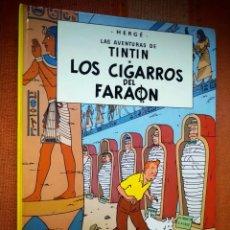 Cómics: LAS AVENTURAS DE TINTIN - LOS CIGARROS DEL FARAÓN. HERGÉ. EDITORIAL JUVENTUD, 2009. 25ª EDICIÓN.. Lote 195120446