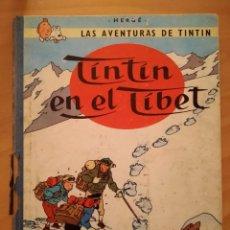 Cómics: LAS AVENTURAS DE TINTIN - TINTIN EN EL TIBET. HERGÉ. ED. JUVENTUD, 1970. 4ª EDICIÓN.. Lote 195135953