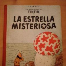 Cómics: LAS AVENTURAS DE TINTIN - LA ESTRELLA MISTERIOSA. HERGÉ. ED. JUVENTUD, 1970. 5ª EDICIÓN.. Lote 195136895