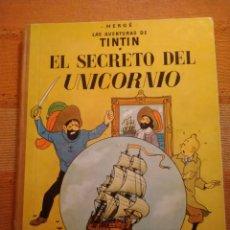 Cómics: LAS AVENTURAS DE TINTIN - EL SECRETO DEL UNICORNIO. HERGÉ. ED. JUVENTUD, 1972. 5ª EDICIÓN.. Lote 195137692