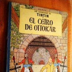 Cómics: LAS AVENTURAS DE TINTIN - EL CETRO DE OTTOKAR. HERGÉ. ED. JUVENTUD, 1972. 5ª EDICIÓN.. Lote 195138645