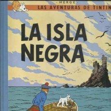 Cómics: TINTIN: LA ISLA NEGRA, 1990, IMPECABLE. Lote 195159967