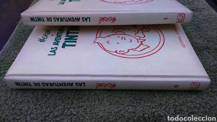 Cómics: Tintin en tomo números 1 y 6 Herge, editorial juventud - Foto 2 - 195172845