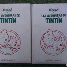 Cómics: TINTIN EN TOMO NÚMEROS 1 Y 6 HERGE, EDITORIAL JUVENTUD. Lote 195172845