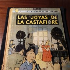 Cómics: LAS AVENTURAS DE TINTÍN. LAS JOYAS DE LA CASTAFIORE. HERGÉ. 1965. 2ª EDICIÓN. TAPAS DURAS. Lote 195242955