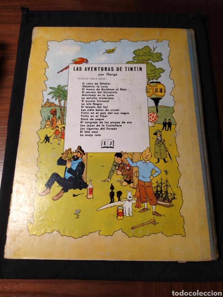 Cómics: Las Aventuras de Tintín. Objetivo: la luna. Hergé. 1965 - Foto 2 - 195244016