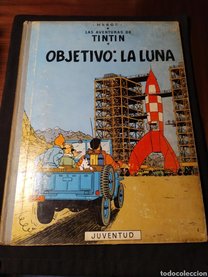 LAS AVENTURAS DE TINTÍN. OBJETIVO: LA LUNA. HERGÉ. 1965 (Tebeos y Comics - Juventud - Tintín)