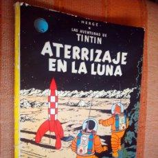 Cómics: LAS AVENTURAS DE TINTIN - ATERRIZAJE EN LA LUNA. HERGÉ. ED. JUVENTUD, 1976. 6ª EDICIÓN.. Lote 195261488