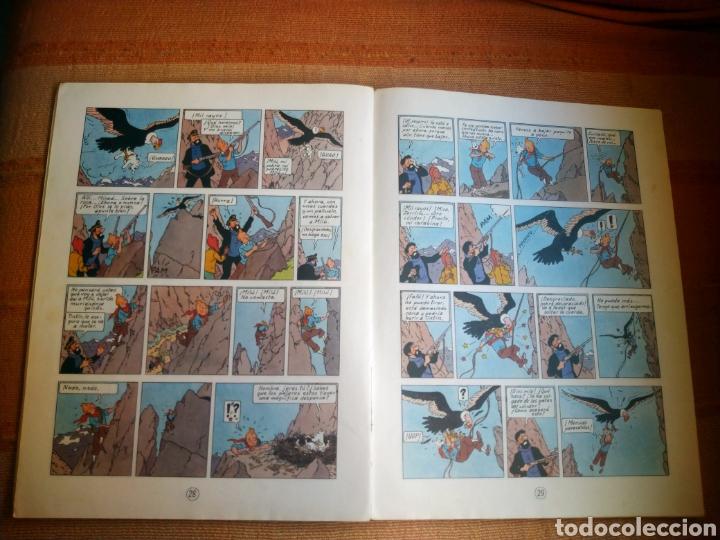 Cómics: LAS AVENTURAS DE TINTIN - EL TEMPLO DEL SOL. HERGÉ. ED. JUVENTUD, 1975. 3ª EDICIÓN. - Foto 4 - 195260638