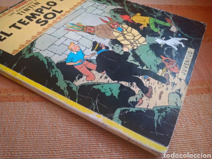 Cómics: LAS AVENTURAS DE TINTIN - EL TEMPLO DEL SOL. HERGÉ. ED. JUVENTUD, 1975. 3ª EDICIÓN. - Foto 7 - 195260638