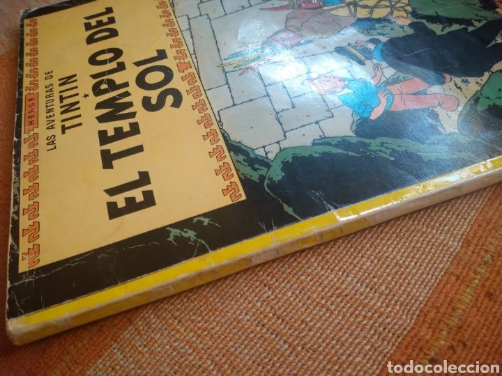 Cómics: LAS AVENTURAS DE TINTIN - EL TEMPLO DEL SOL. HERGÉ. ED. JUVENTUD, 1975. 3ª EDICIÓN. - Foto 8 - 195260638