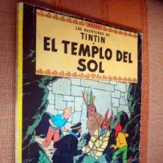 Cómics: LAS AVENTURAS DE TINTIN - EL TEMPLO DEL SOL. HERGÉ. ED. JUVENTUD, 1975. 3ª EDICIÓN.. Lote 195260638