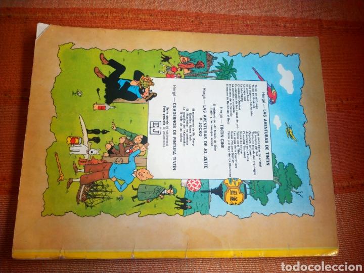 Cómics: LAS AVENTURAS DE TINTIN - LA ISLA NEGRA. HERGÉ. ED. JUVENTUD, 1974. 4ª EDICIÓN. - Foto 5 - 195260951