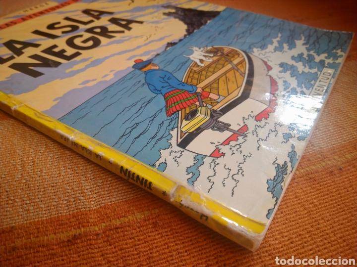 Cómics: LAS AVENTURAS DE TINTIN - LA ISLA NEGRA. HERGÉ. ED. JUVENTUD, 1974. 4ª EDICIÓN. - Foto 6 - 195260951
