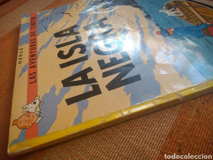 Cómics: LAS AVENTURAS DE TINTIN - LA ISLA NEGRA. HERGÉ. ED. JUVENTUD, 1974. 4ª EDICIÓN. - Foto 7 - 195260951