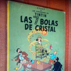 Cómics: LAS AVENTURAS DE TINTIN - LAS 7 BOLAS DE CRISTAL. HERGÉ. ED. JUVENTUD, 1975. 4ª EDICIÓN.. Lote 195261272
