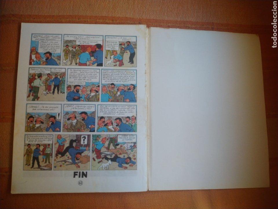 Cómics: LAS AVENTURAS DE TINTIN - ATERRIZAJE EN LA LUNA. HERGÉ. ED. JUVENTUD, 1976. 6ª EDICIÓN. - Foto 5 - 195261488