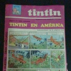 Cómics: TINTÍN SEMANARIO PARA JÓVENES TINTÍN EN AMÉRICA Nº 5 AÑO 1 1967. Lote 195266750
