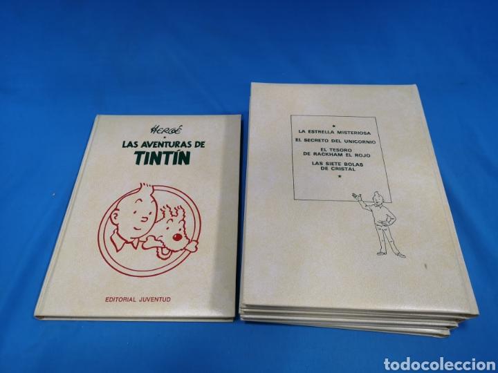 Cómics: LOTE 5 TOMOS COMICS, LAS AVENTURAS DE TINTÍN, HERGÉ, EDITORIAL Juventud. Años 1989-90-91 - Foto 3 - 195269965