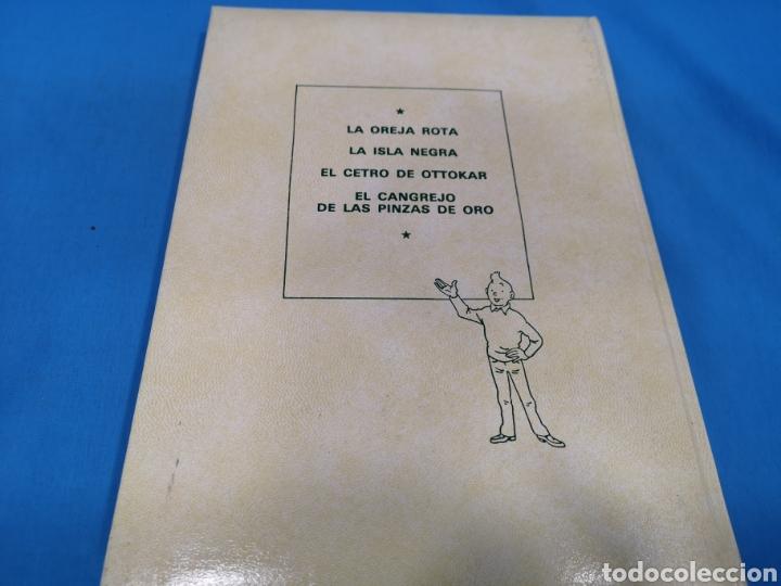 Cómics: LOTE 5 TOMOS COMICS, LAS AVENTURAS DE TINTÍN, HERGÉ, EDITORIAL Juventud. Años 1989-90-91 - Foto 4 - 195269965