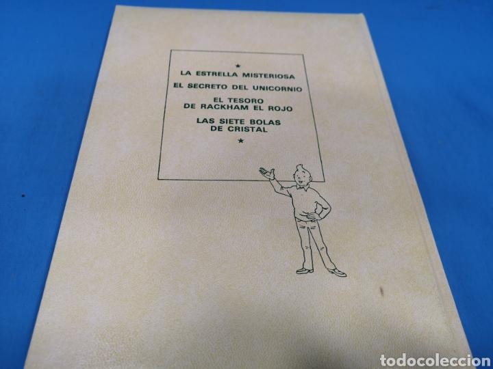 Cómics: LOTE 5 TOMOS COMICS, LAS AVENTURAS DE TINTÍN, HERGÉ, EDITORIAL Juventud. Años 1989-90-91 - Foto 5 - 195269965