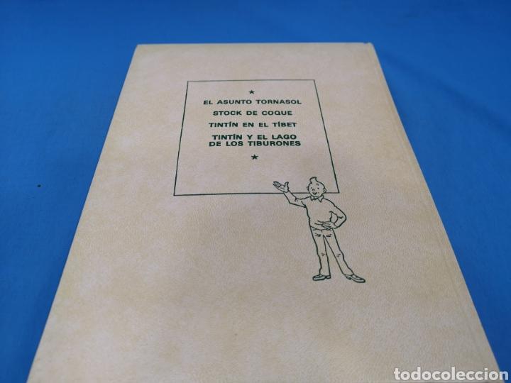 Cómics: LOTE 5 TOMOS COMICS, LAS AVENTURAS DE TINTÍN, HERGÉ, EDITORIAL Juventud. Años 1989-90-91 - Foto 7 - 195269965