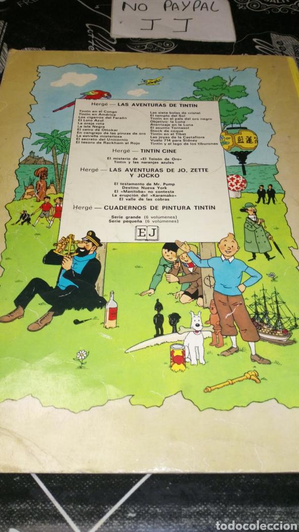 Cómics: Tintin en el Tíbet ver fotos estado necesita reparación y limpieza lomo muy tocado quinta edi 1976 - Foto 5 - 195339697