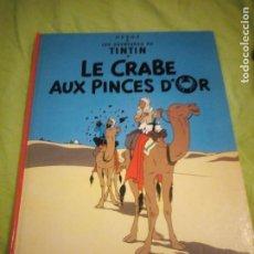 Cómics: TINTIN LE CRABE AUX PINCES D'OR 1982. Lote 195430696