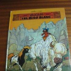 Cómics: YAKARI I EL BISO BLANC Nº 2. DERIB + JOB. EDITORIAL JOVENTUT.. Lote 195478990