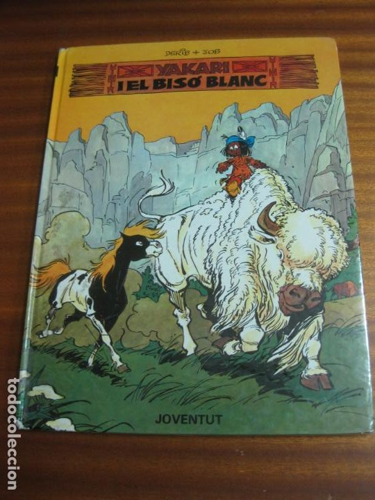 YAKARI I EL BISO BLANC Nº 2. DERIB + JOB. EDITORIAL JOVENTUT. (Tebeos y Comics - Juventud - Yakary)