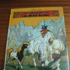Cómics: YAKARI I EL BISO BLANC Nº 2. DERIB + JOB. EDITORIAL JOVENTUT.. Lote 195479030
