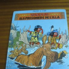 Cómics: YAKARI I ELS PRESONERS DE L'ILLA Nº 9. DERIB + JOB. EDITORIAL JOVENTUT.. Lote 195479470