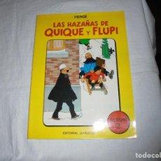Cómics: LAS HAZAÑAS DE QUIQUE Y FLUPI.HERGE.ALBUM Nº 2.1987.-1ª EDICION. Lote 247037700