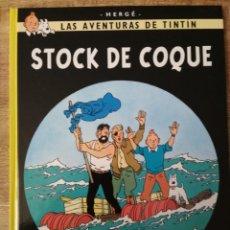 Cómics: TINTÍN. STOCK DE COQUE. ED JUVENTUD.. Lote 195495685
