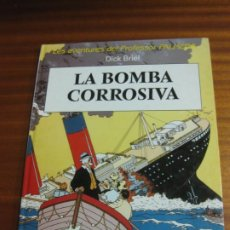 Comics : LES AVENTURES DEL PROFESSOR PALMERA. DICK BRIEL. LA BOMBA CORROSIVA. EN CATALÀ. Lote 195701703