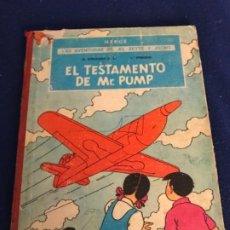 Comics : LAS AVENTURAS DE JO ZETTE Y JOCKO 1ER EPISODIO EL TESTAMENTO DE MR. PUMP 1ª EDICION. Lote 195996073