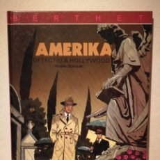 Cómics: COMIC TAPA DURA EN CATALAN - DETECTIU A HOLLYWOOD - AMERIKA - BERTHET RIVIERE BOCQUET. Lote 196134402