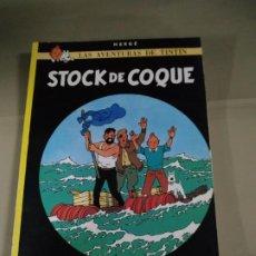 Cómics: TINTÍN. STOCK DE COQUE - HERGÉ. Lote 196444993