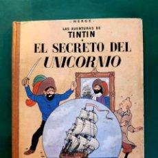 Cómics: TINTÍN EL SECRETO DEL UNICORNIO SEGUNDA EDICIÓN VER FOTOS. Lote 196520642