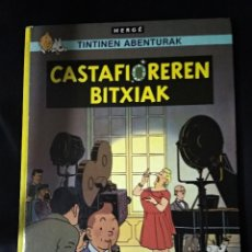 Comics : TINTIN CASTAFIOREREN / ELKAR 1998 EUSKARAZ VASCO BASQUE TAPA DURA COMO NUEVO. Lote 196548072