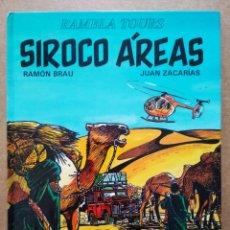Cómics: SIROCO ÁREAS, POR RAMÓN BRAU Y JUAN ZACARÍAS (JUVENTUD, 1993). COLECCIÓN RAMBLA TOURS.. Lote 196590546