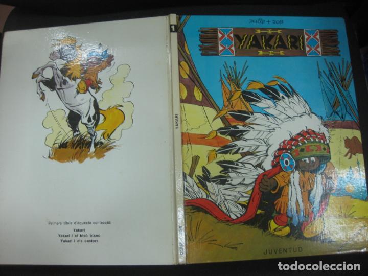 YAKARI Nº 1. DERIB + JOB. EDICIO CATALANA. EDITORIAL JUVENTUD, 1979 (Tebeos y Comics - Juventud - Yakary)