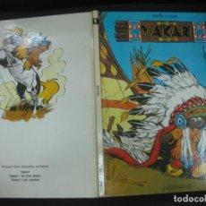 Cómics: YAKARI Nº 1. DERIB + JOB. EDICIO CATALANA. EDITORIAL JUVENTUD, 1979. Lote 196618773