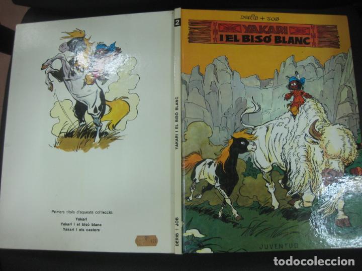 YAKARI I EL BISO BLANC. Nº 2. DERIB + JOB. EDITORIAL JUVENTUD, PRIMERA EDICIO, 1979 (Tebeos y Comics - Juventud - Yakary)