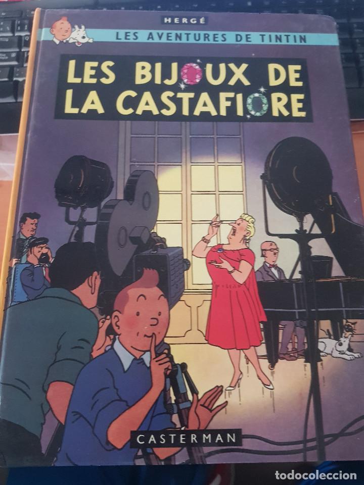 TINTIN LES BIJOUX DE LA CASTAFIORE 1963 CASTERMAN,FRANCES (Tebeos y Comics - Juventud - Tintín)